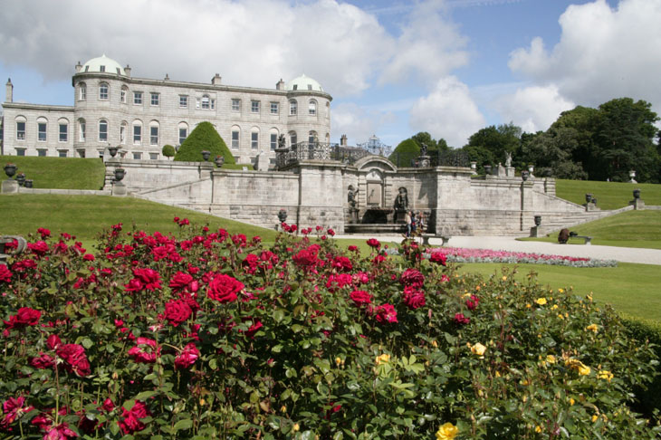 Powerscourt-House Top 10 Sehenswürdigkeiten Irlands