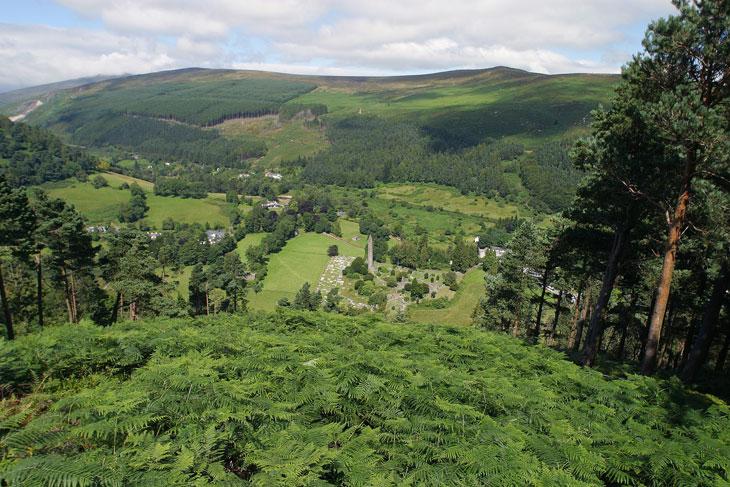 Glendalough Klosteranlage Wicklow Mountains-top10 Sehenswürdigkeiten Irland