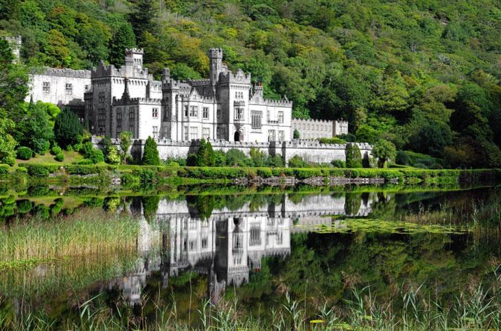 Kylemore Abbey Connemara Top 10 Sehenswürdigkeiten Irlands