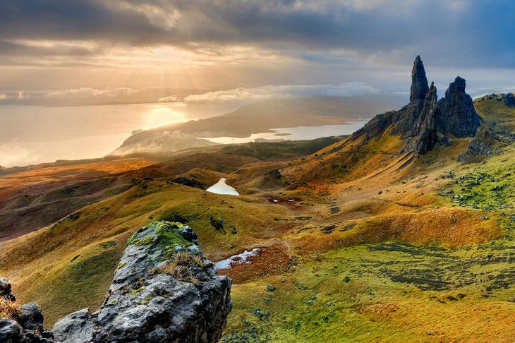 Isle of Skye Landschaft - Schottland - Top 10 Sehenswürdigkeiten Schottlands