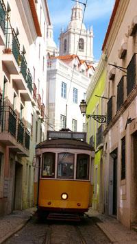 lissabon-strassebahn - Top 10 Sehenswürdigkeiten Portugals