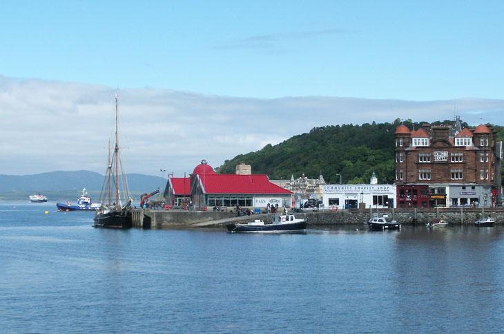 oban-stadt-schottland - Top 10 Sehenswürdigkeiten Schottlands