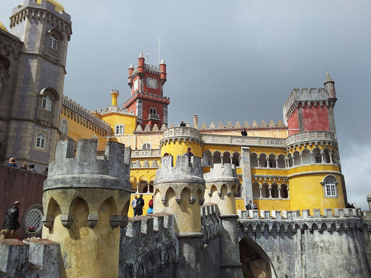 Palácio nacional da pena - Kummerpalast sintra-portugal - Top 10 Sehenswürdigkeiten Portugals