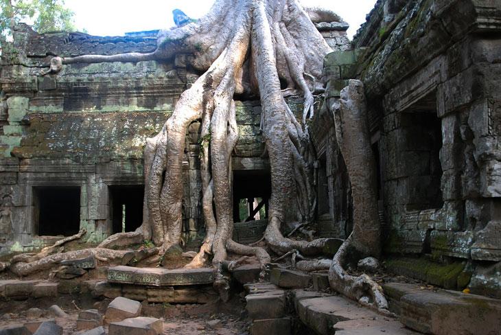 Angkor Wat Siam-Riap Tempel Anlage