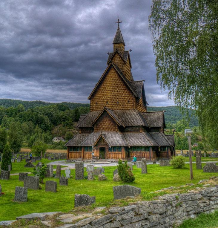 Stabkirche Borgund - Reisetipps Norwegenrwegen