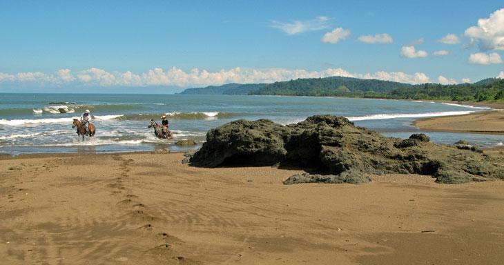 Drake Bay Urlaub Costa Rica Strand