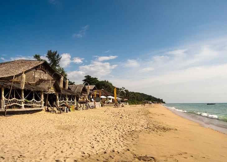 Koh Lanta Strand - Inselhopping Thailand