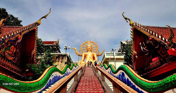 Koh Samui Insel - Big Budha Tempel - Inselhopping Thailand