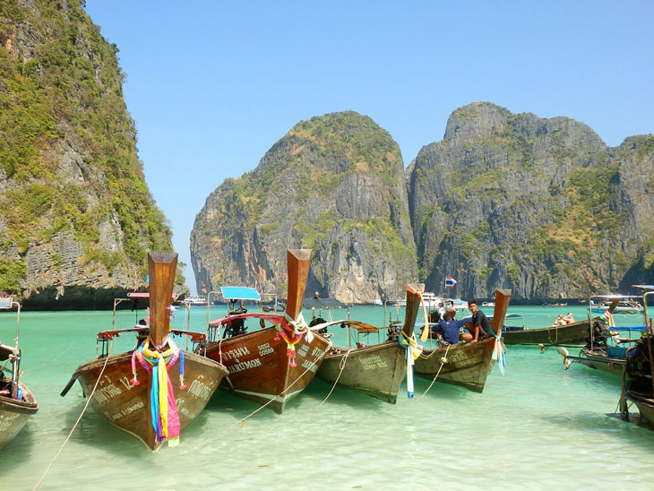 Inselhopping – Die 10 schönsten Inseln in Thailand - Koh Phi Phi Insel
